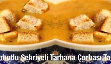 Nohutlu Şehriyeli Tarhana Çorbası Tarifi