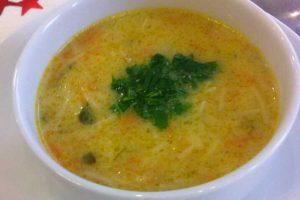Havuçlu Şehriye Çorbası