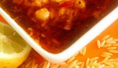Şehriyeli Tavuk Çorbası Yapımı