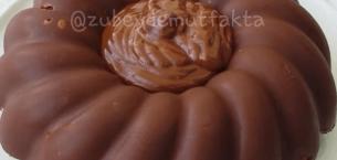 Çikolata Mantolu Muzlu Kek