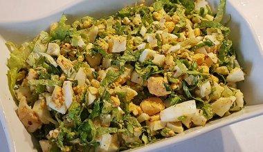 Yumurta Salatası Tarifi ve Malzemeleri
