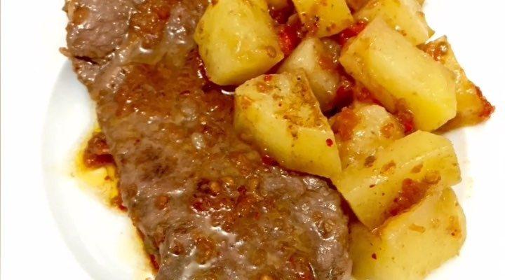 Biftekli Patates Tarifi