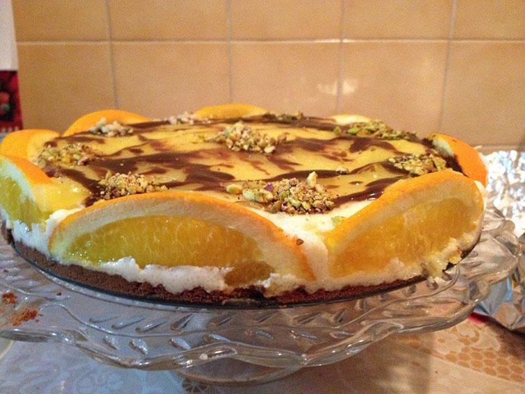 Portakal Rüyası Pastası Tarifi