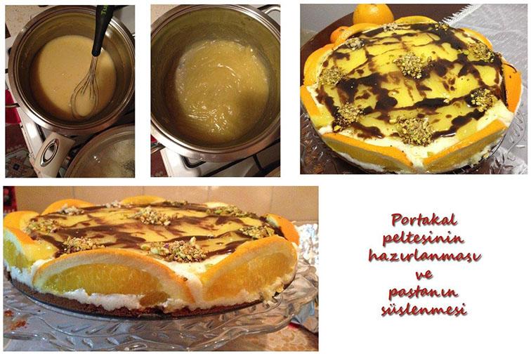 Portakal Rüyası Pastası Hazirlanmasi ve Süslenmesi