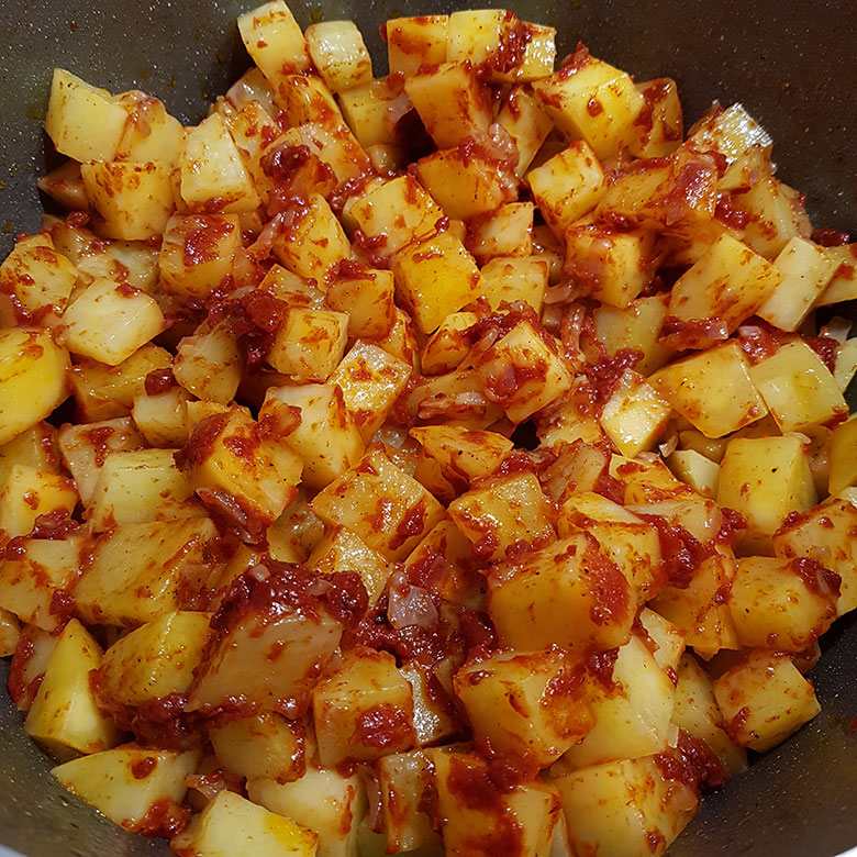 Patates Yemeği Yapımı