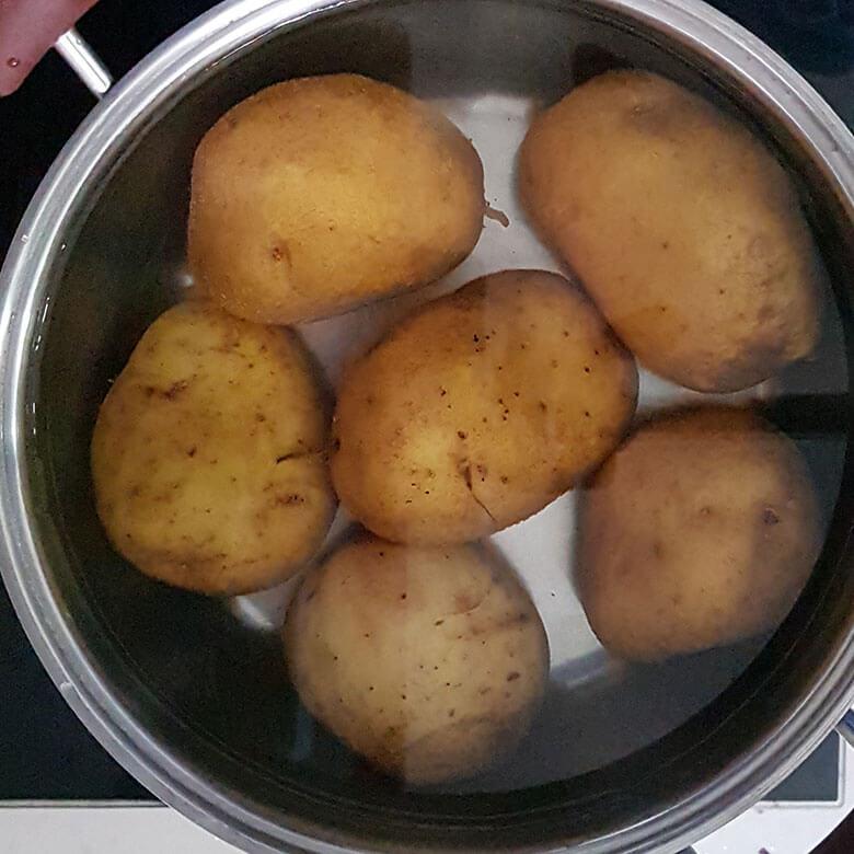 Patates Püresi Malzemeleri