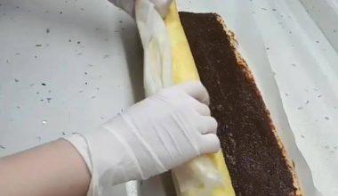 Enerji Bombası Rulo Pasta Tarifi ve Yapılışı