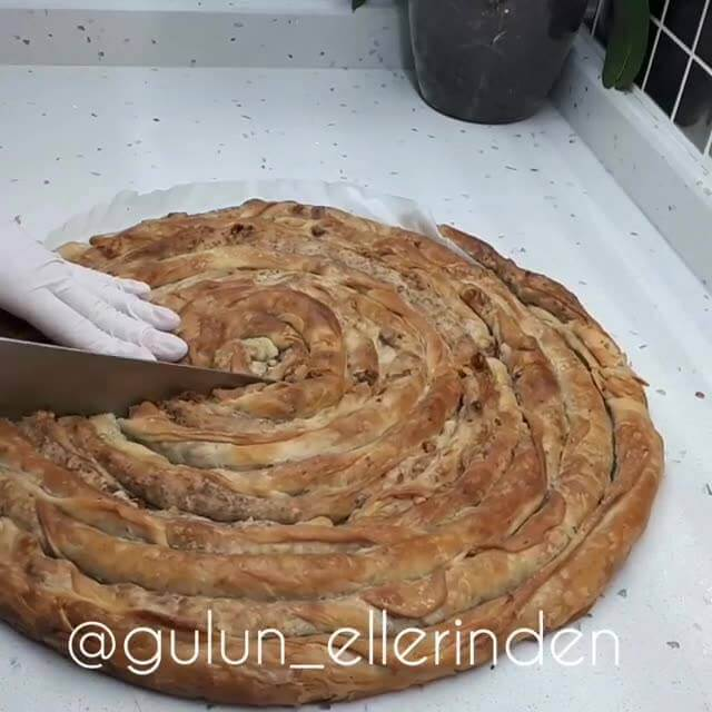 Cevizli Fırın Böreği Tarifi